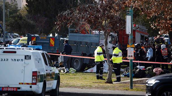 Jerusalem terror attack truck