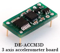 triple axis accelerometer