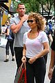 jlo hits the gym with arod in nyc 01