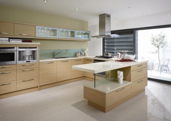 Minimalistic kitchen cabinets