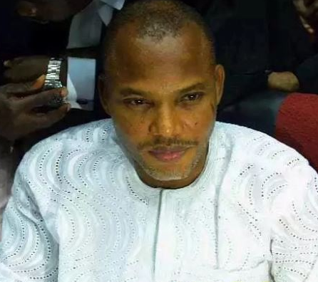 """It is not the responsibility of DHQ to declare Nnamdi Kanu wanted''  -The Defence Headquarters (DHQ)"