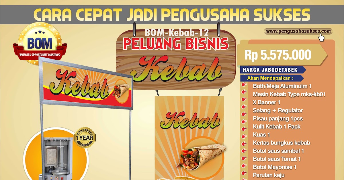 Contoh Banner Jual Ayam Bakar - gambar spanduk