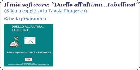 http://www.softwaredidatticofree.it/schedaduellotabelline.htm