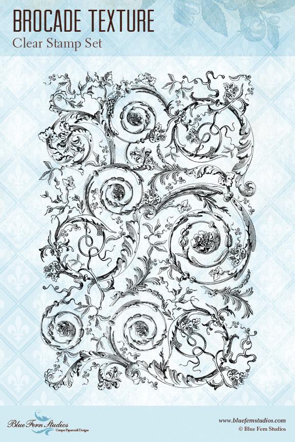 Stamp - Brocade Texture