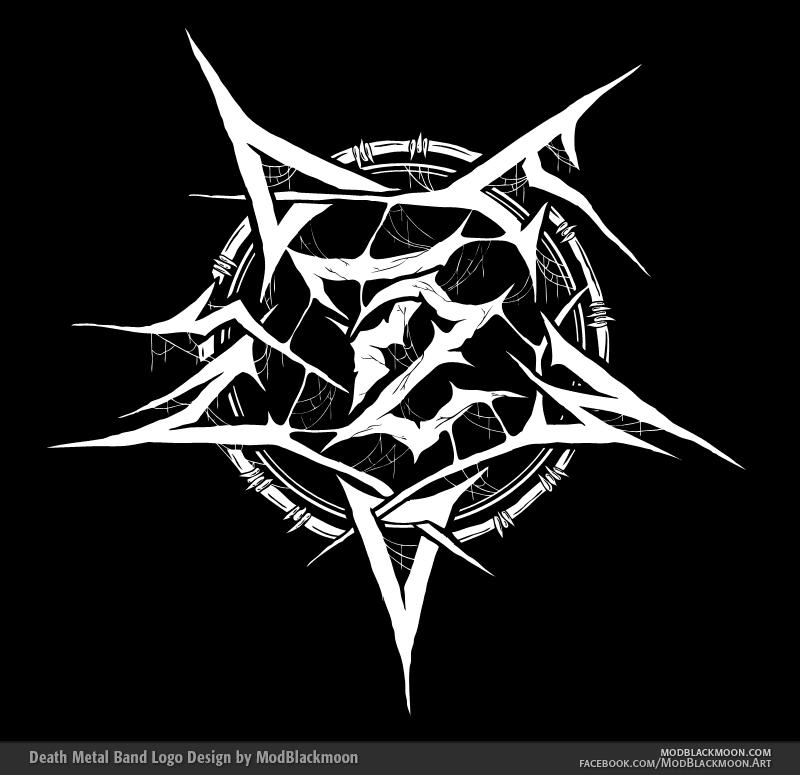 72 Demons - Death Metal Band Symbol
