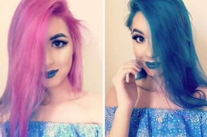 Esta jovem consegue mudar o próprio visual em menos de 5 segundos