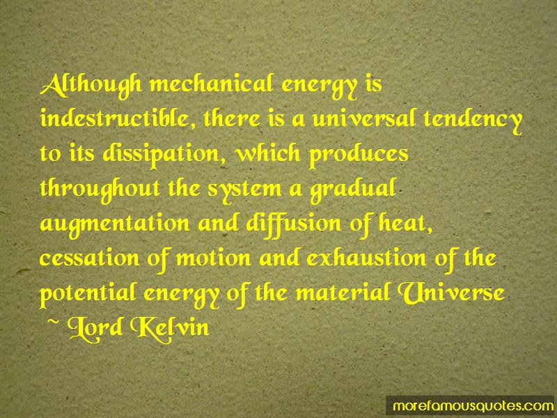Quotes About Mechanical Energy Top 15 Mechanical Energy Quotes From