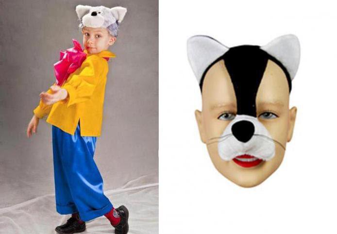 Kostium Kot Własnymi Rękami Dla Chłopca Fotografia Wzór