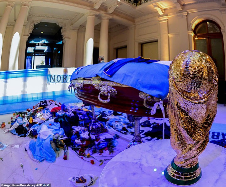 Football legend, Diego Maradona laid to rest in private ceremony in Buenos Aires (photos)