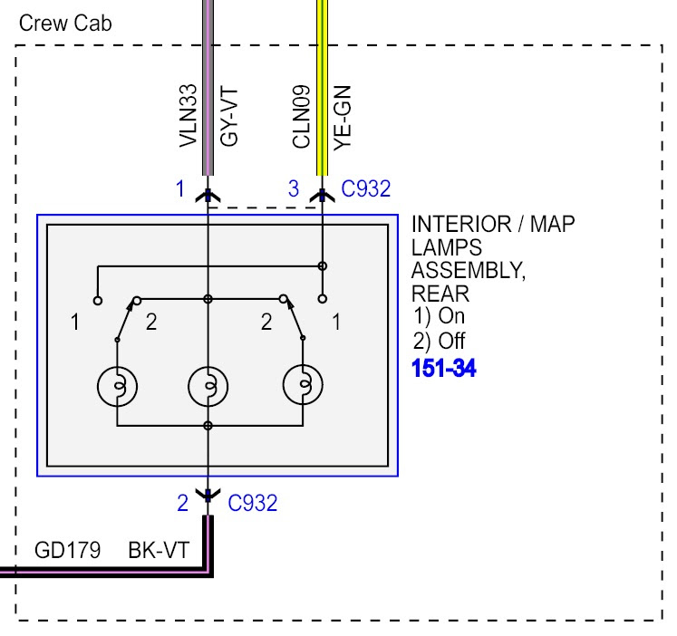 Ford Dome Light Wiring Diagram