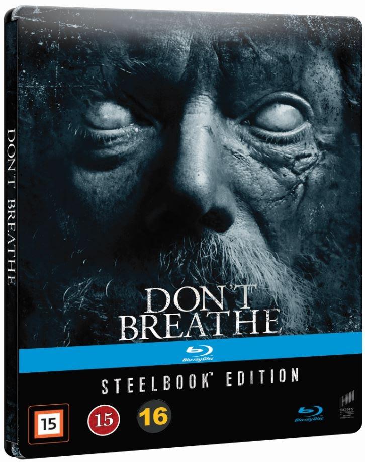 Don't Breathe (2016) (Blu-ray SteelBook) Finland | Hi ...