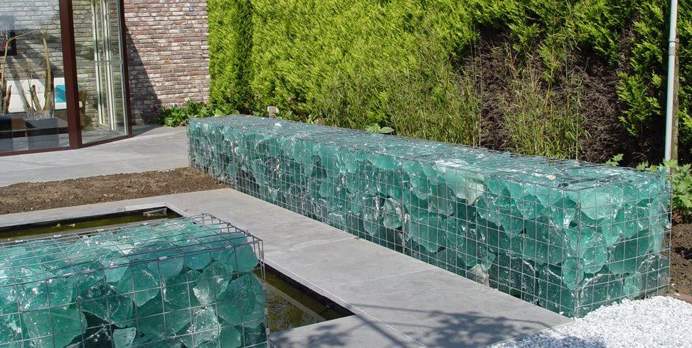 gabion wall slag glass maureen gilmer_5080