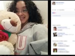 Camila dos Santos Alves, 24 anos (Foto: Reprodução/ Facebook)