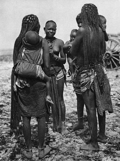 """Ovambo women, Ondonga, South West Africa"" 