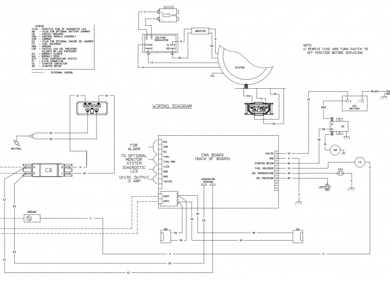 Backup Generator Wiring Diagram Wiring Solutions