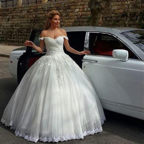 Robe De Mariee Fashion Style Princess Lace Wedding Dress