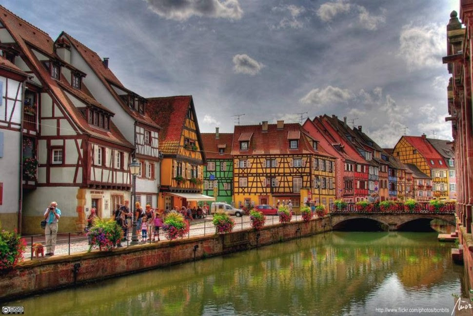 Colmar, en France