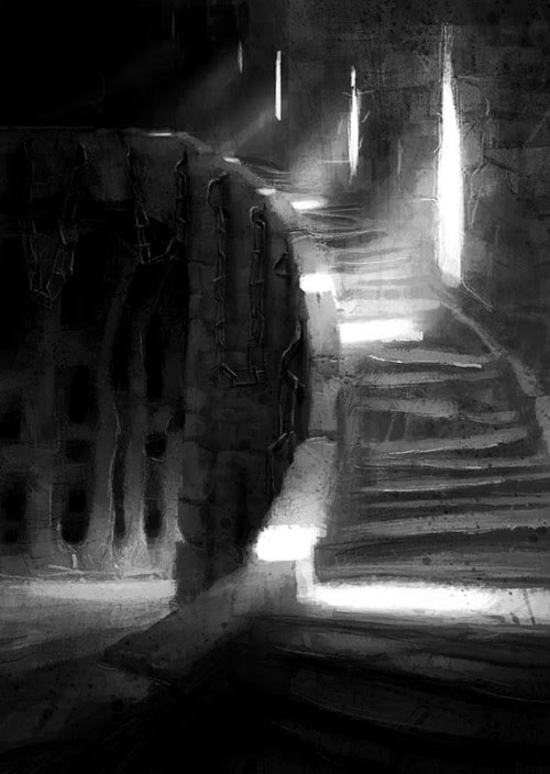 witchinqhour:  SHOULD WE CLIMB UP OR GO DOWN?  EITHER CHOICE ENDS UP WITH US DEAD.  MIGHT AS WELL ENJOY THE FESTIVITIES  WHEN WE CAN.  THE DEAD GAME HAS BEGUN.