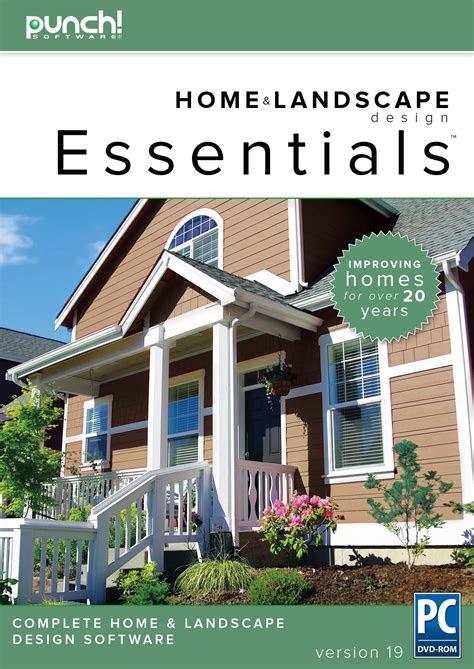 punch home landscape design essentials  home