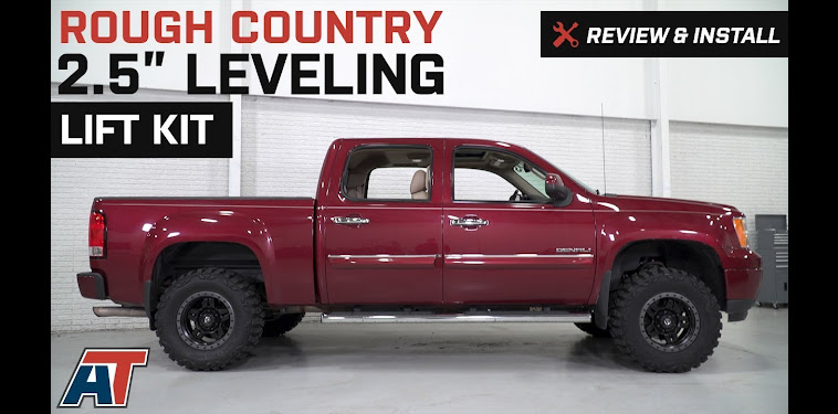 Rough Country 25 Leveling Kit Silverado Installation