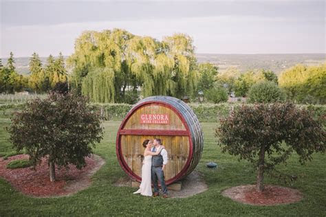 Glenora Wine Cellars Wedding   Finger Lakes Wedding
