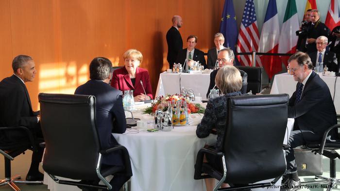 La tavolata d'addio a Berlino