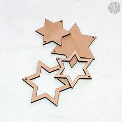 Auswahl aus dem Sortiment Sterne