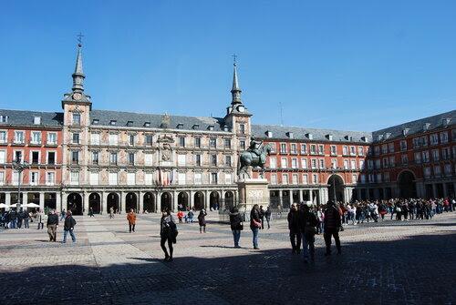 Центральная площадь Мадрида - Пласа Майор