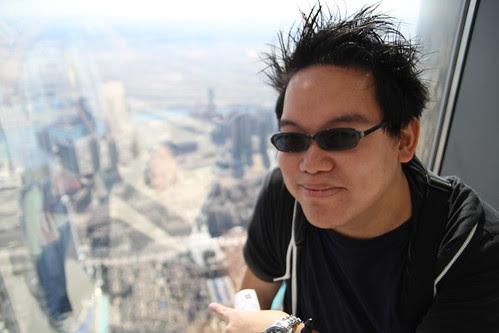 Yay, I'm on top of Dubai
