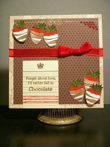 Rather Fall in Chocolate
