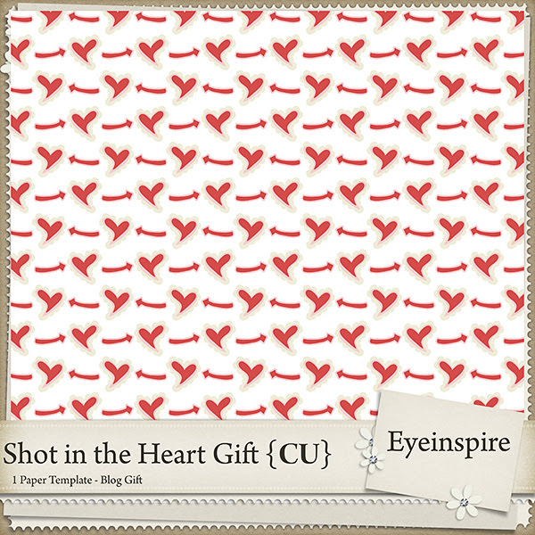 eyeinspire, freebie, digiscrap, digifree, commercial use, paper template, valentine, arrow, hearts, heart, love, free, graphics, hi quality, artist tools, color play designer swatch freebie for your digi scrap kits