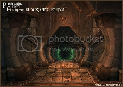 PostcardsFromAzeroth.com: Blackwing Portal
