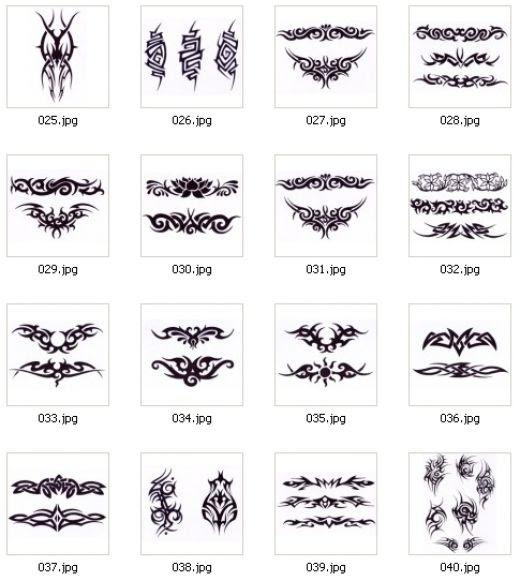Tribal Upper Back Tattoos For Women Top Tattoo Ideas