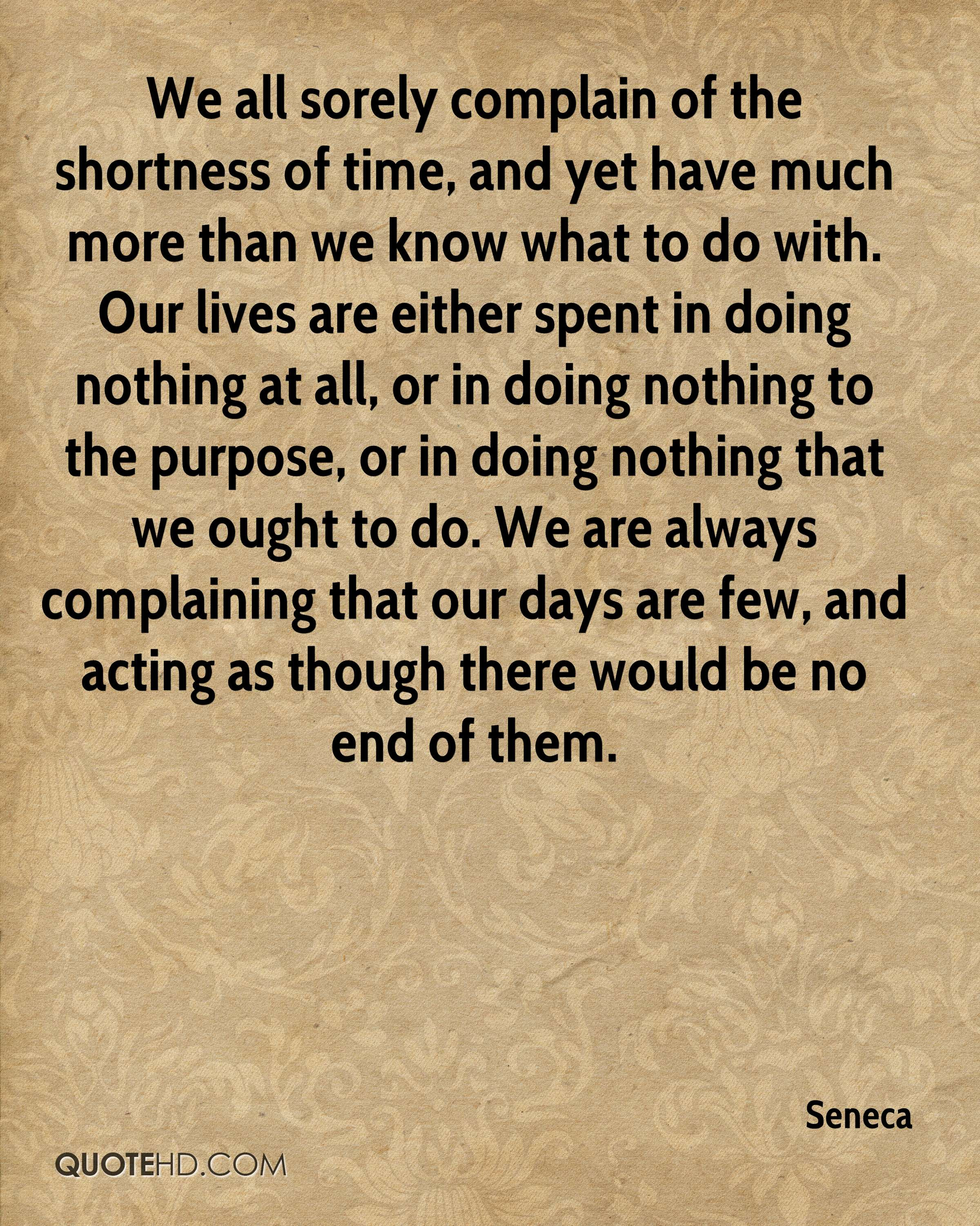 Seneca Shortness Of Life Quotes Best Life Quotes In Hd Images