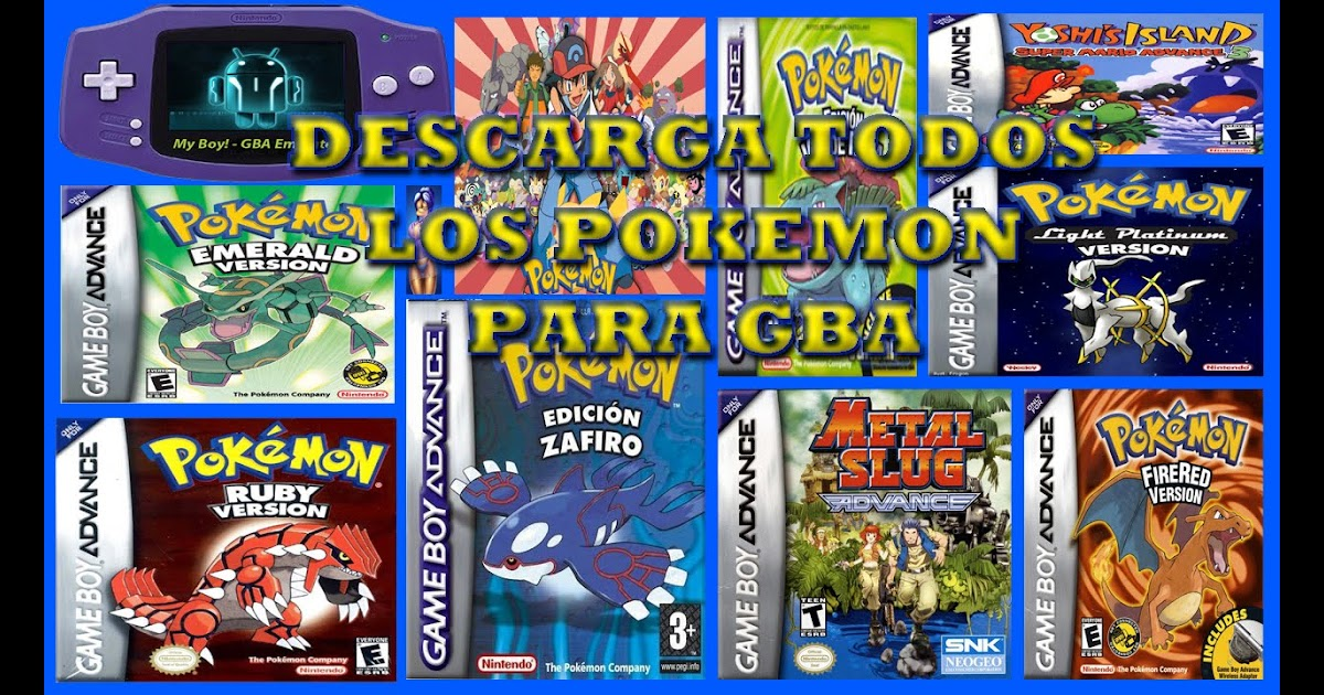 descargar roms para gba my boy