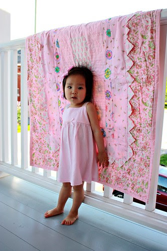 'lilah's giggles' quilt