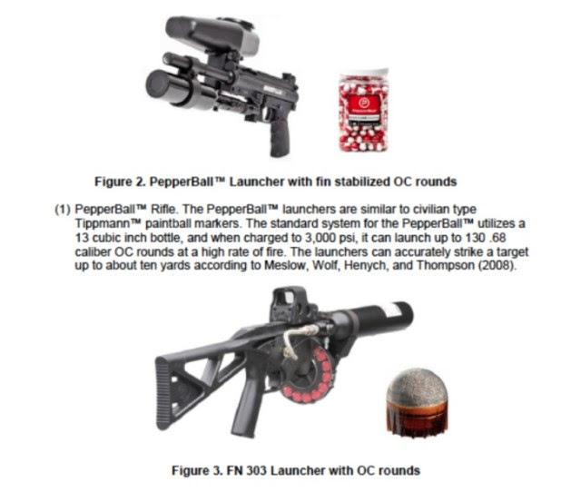 NoDAPL Protest FEMA Gas Grenade