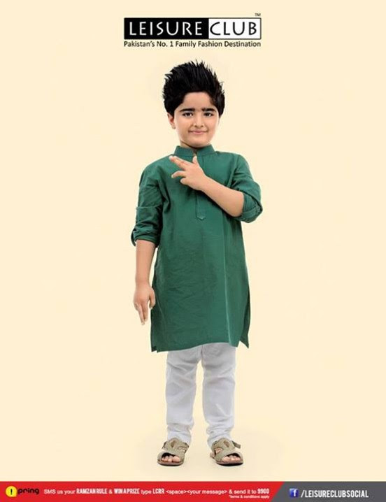 65a1b3369 Leisure Club Stylish Summer Eid Kids-Child Wear Collection 2013-2014 ...