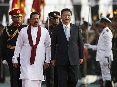 China, India and the Sri Lanka Elections