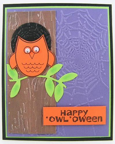 SOL September Halloween Owl Card