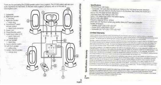 Wiring Diagram  2 Altec Lansing Vs4121 Schematic Diagram