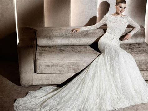My Bridal Fashion Guide to Long Sleeved Wedding Dresses