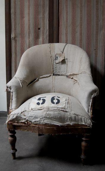 Brocante, déco brocante, ancien fauteuil