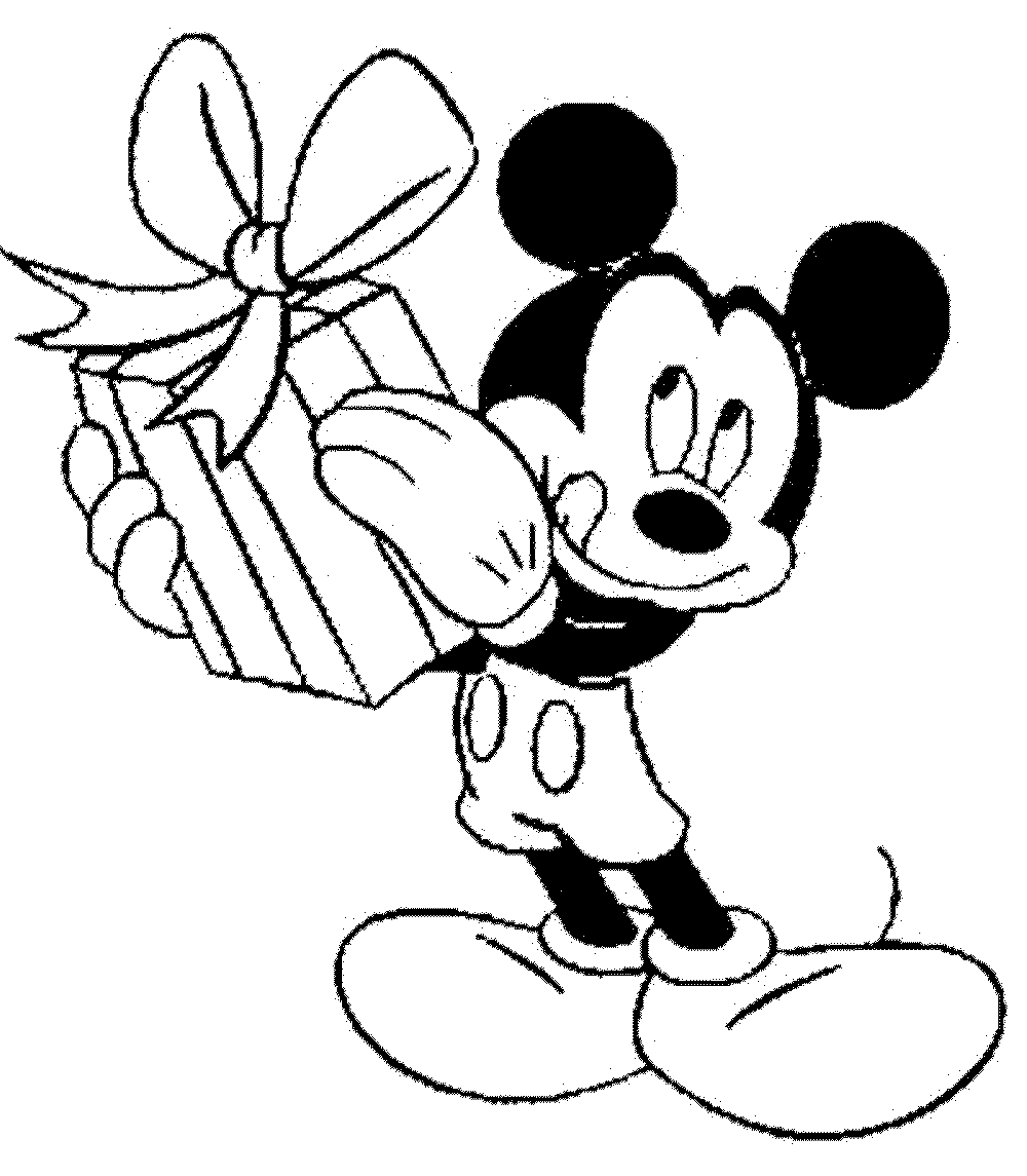 Mickey Christmas Coloring Pages at GetColorings.com | Free ...
