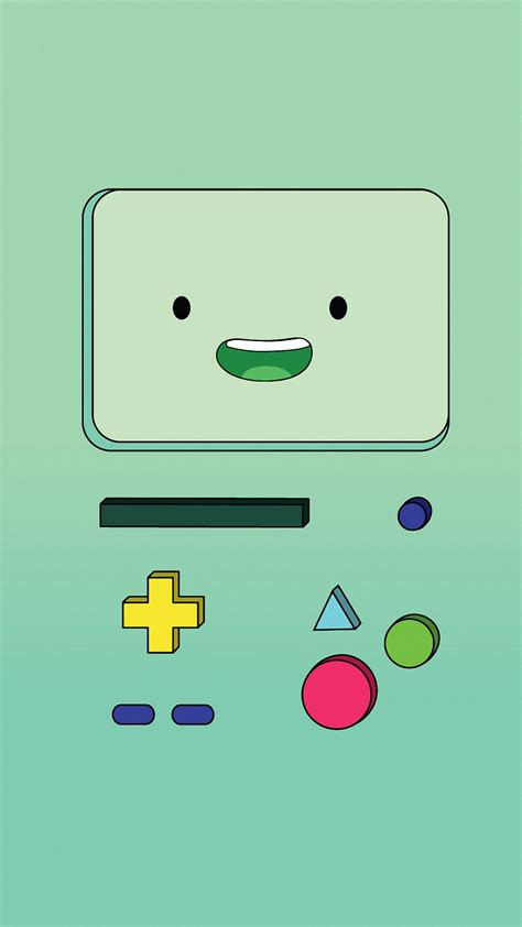 cartoon bmo iphone  wallpapers hd