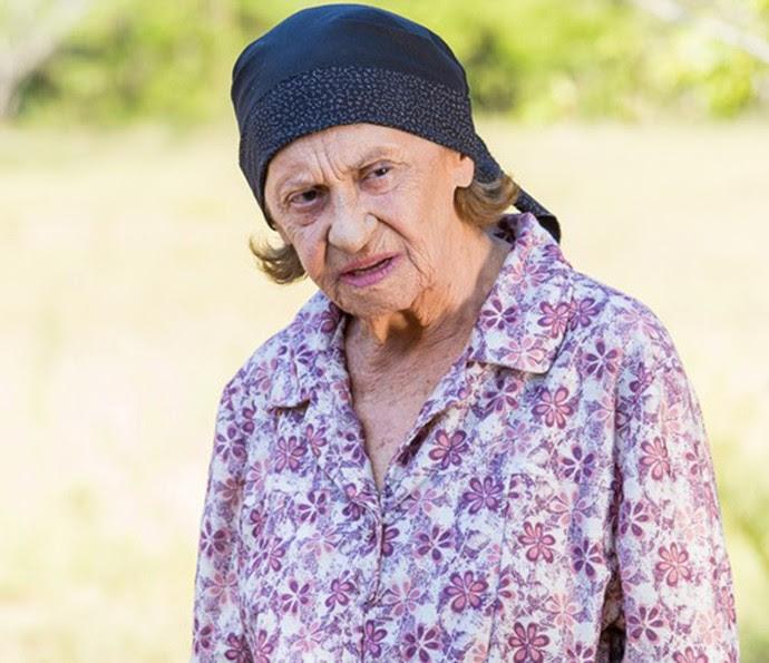Laura Cardoso foi Jesuína em 'Império', seu último trabalho. Em 'Sol Nascente', ela será Dona Sinha, a duas caras avó de César (Foto: Artur Meninea/ Gshow)