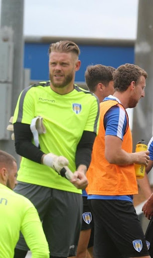Colchester United players using mobile app to keep fit