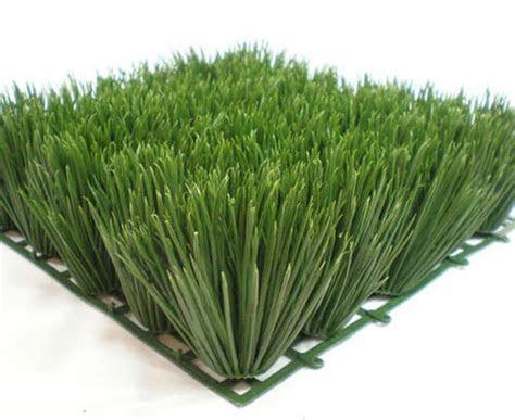 Japanese Faux Grass Mat 10x10 Interlocking 3in Grass