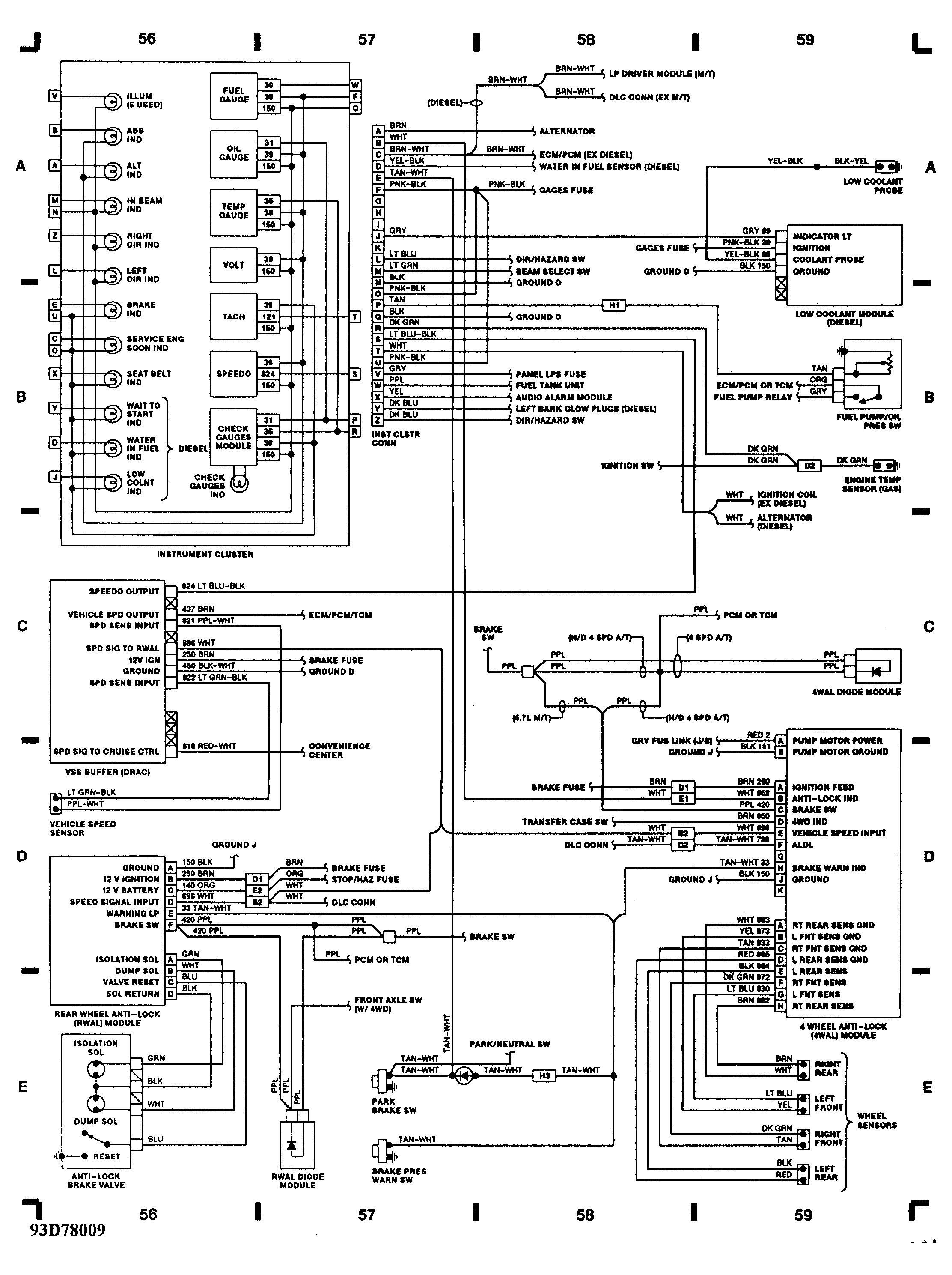 1996 Chevy Truck Wiring Diagram