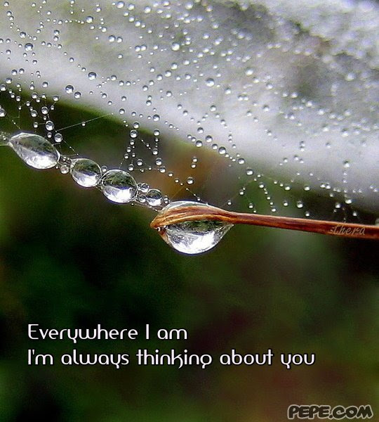 Everywhere I Am Im Always Thinking About You Quotespicturescom